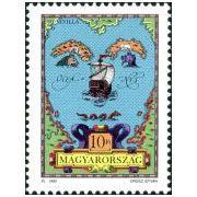 Columbus postzegels Hongarije 1992  afbeelding 2